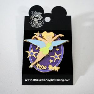 Disney Tinker Bell Pixie Power Stars Purple Pin